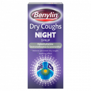 Benylin Dry Cough Night Syrup – 150ml