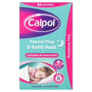 Calpol Vapour Plug Refill Pads - 5 Pads