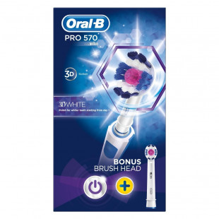 Oral-B Power Pro 570 3D White Electric Toothbrush