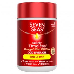 Seven Seas Pure Cod Liver Oil One-A-Day - 30 Capsules