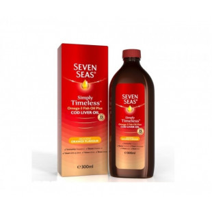 Seven Seas Pure Cod Liver Oil Orange Syrup – 300ml