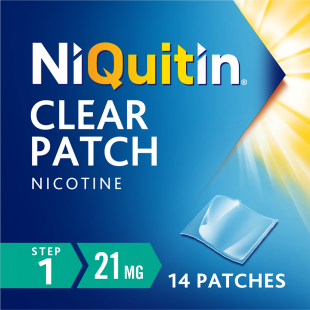 Niquitin Clear (Step 1) - 14 x 21mg Patches
