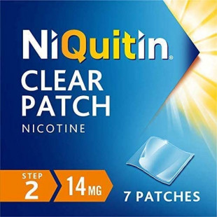 Niquitin Clear CQ 14mg 24 Hour (Step 2) – 7 Patches
