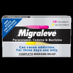Migraleve Migraine Tablets Complete - 24 Tablets