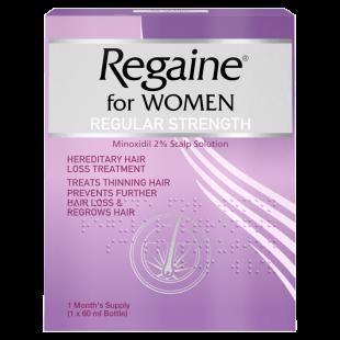 Regaine For Women Regular Strength 60ml One Month Supply