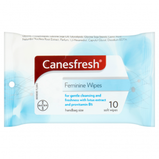Canesfresh 10 Feminine Soft Wipes