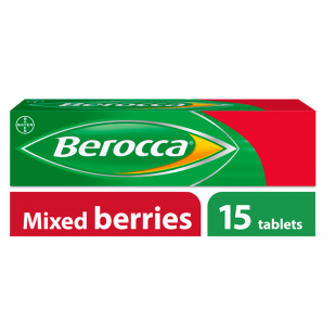 Berocca Mixed Berries - 15 Effervescent Tablets