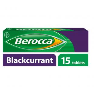 Berocca Blackcurrant - 15 Effervescent Tablets