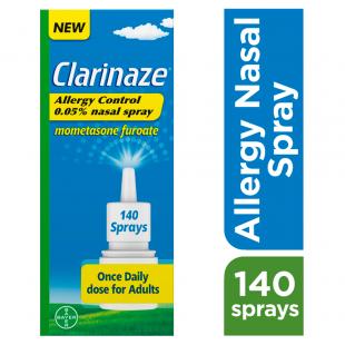 Clarinaze Allergy Control Nasal Spray 0.05% - 140 Sprays