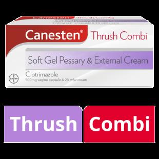 Canesten Thrush Soft Gel Pessary And External Cream Combi