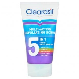 Clearasil Multi-Action Exfoliating Scrub 5 in 1 - 150ml