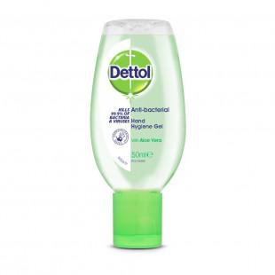 Dettol Anti-Bacterial Aloe Vera Hand Hygiene Gel - 50ml