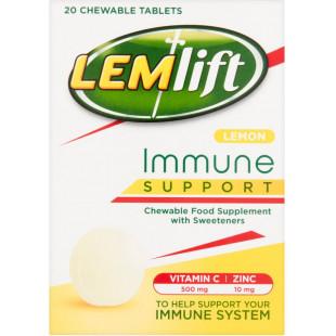 Lemsip Lemlift Immune Support Chewable Lemon - 20 Tablets