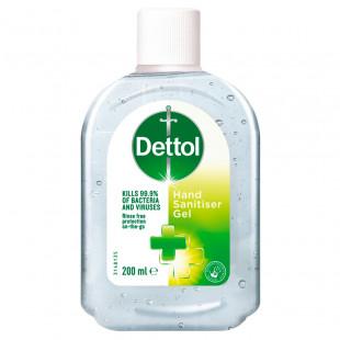 Dettol Hand Sanitiser Gel - 200ml