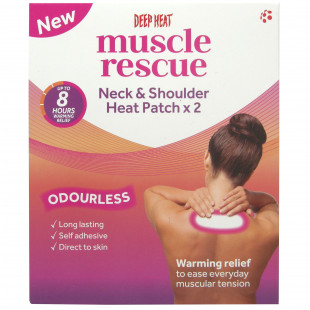 Deep Heat Neck & Shoulder Patches - Pack of 2