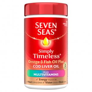 Seven Seas Cod Liver Oil + Multivitamins – 90 Capsules
