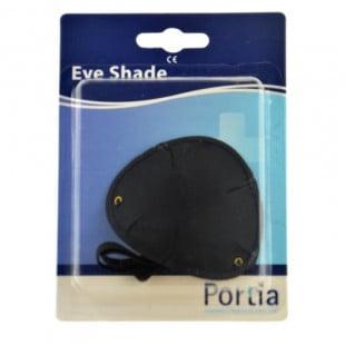 Portia Eye Shade Black Satin Concave