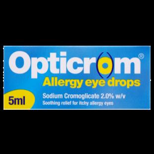 Opticrom Allergy Eye Drops - 5ml