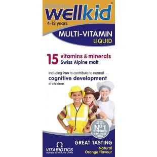 Vitabiotics Wellkid Multivitamin Liquid - 150ml