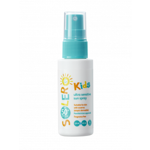 Solero Kids Ultra Sensitive SPF50+ Sun Spray – 50ml