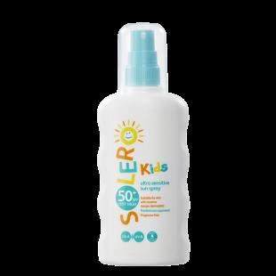 Solero Kids Ultra Sensitive Sun Spray SPF50+ – 200ml