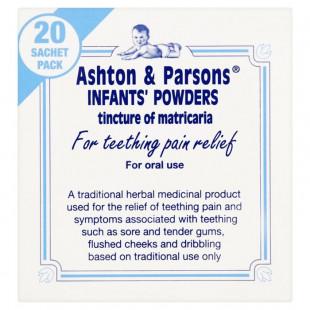 Ashton & Parsons Infant Teething Powders - 20 Sachets
