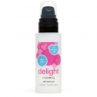 Lovehoney Delight Silk Water-Based Lubricant - 100ml