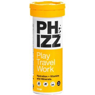 Phizz Multivitamin & Hydration Effervescent Orange Flavour - 10 Tablets
