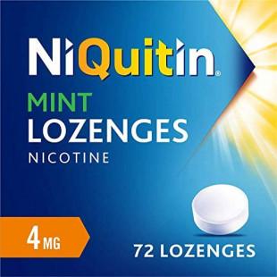 Niquitin 4mg Mint Lozenges - 72 Lozenges