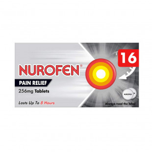 Nurofen Pain Relief 256mg Tablets - 16 Pack