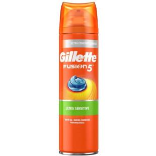 Gillette Fusion5 Ultra Sensitive Men's Shaving Gel - 200ml