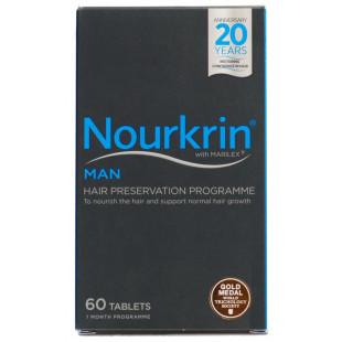 Nourkrin Man For Hair Growth - 60 Tablets