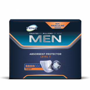 Tena For Men Absorbent Protector Level 3 - 8 Pack