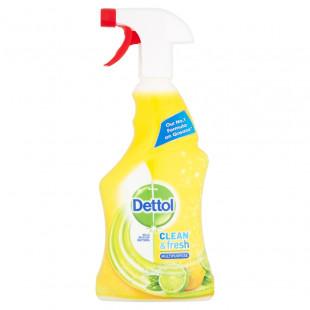 Dettol Clean & Fresh Multipurpose Sparkling Lemon & Lime Burst - 500ml