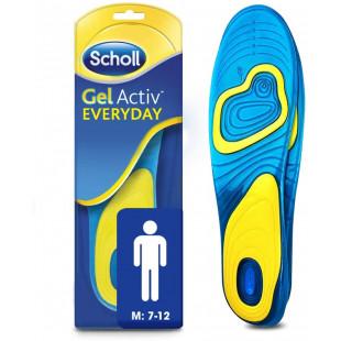 Scholl Mens Gel Activ Everyday - 1 Pair