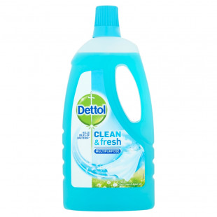 Dettol Clean & Fresh Multipurpose Crisp Linen & Aqua Sky - 1 Litre