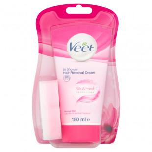 Veet Normal Skin In-Shower Hair Removal Cream Lotus Milk & Jasmine Fragrance - 150ml