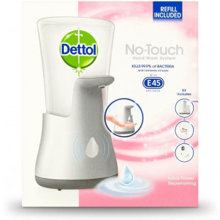 Dettol No Touch Hand Wash System With E45 Lotus Flower - 250ml
