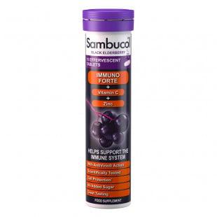 Sambucol Immuno Forte Effervescent - 15 Tablets