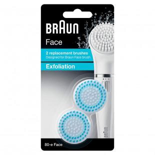 Braun Silk SE80-B Exfoliation Replacement Brushes - Pack Of 2