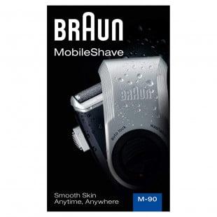 Braun PocketGo M90 Portable Electric Shaver