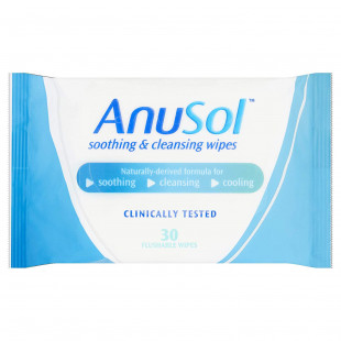 Anusol Soothing & Cleansing Wipes - 30 Pack