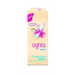 Tena Lights Long Liners - 20 Pack