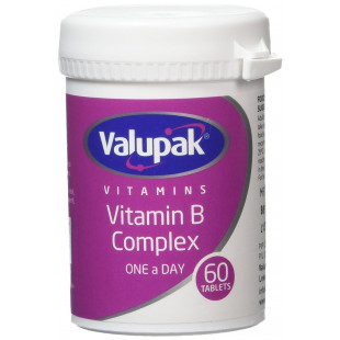 Valupak Vitamin B Complex - 60 Tablets