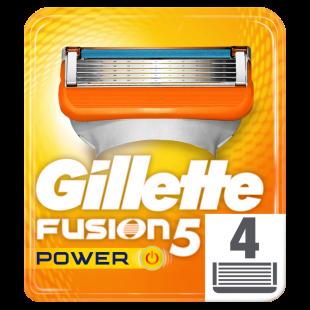 Gillette Fusion5 Power Razor Blades – 4 Pack