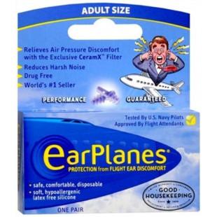 Earplane Adult Earplugs - 1 Pair