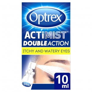 Optrex ActiMist 2-in-1 Eye Spray for Itchy & Watery Eyes – 10ml