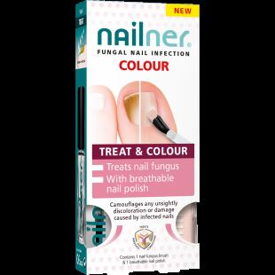 Nailner Treat & Colour - 2 x 5ml