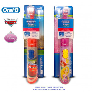 Oral-B Stages Power Disney Cars & Princess Toothbrush