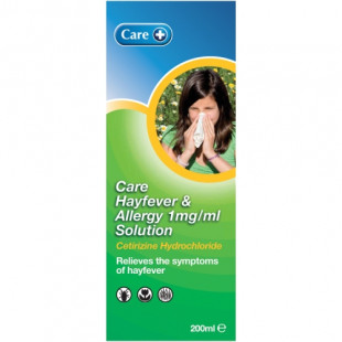 Care Hayfever and Allergy Solution - 200ml